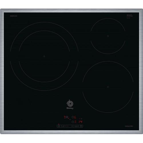 Serie | 4 Bếp từ Bosch Balay 3EB865XR, thiết kế mới, Boost nâng hiệu suất nấu tối ưu